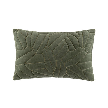 SALERNO OLIVE RECTANGLE CUSHION