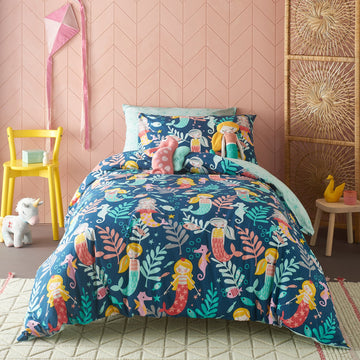 SIRENA KIDS MULTI QUILT COVER SET