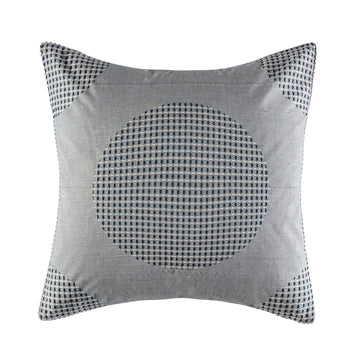 SITRA DENIM EUROPEAN SQUARE PILLOWCASE