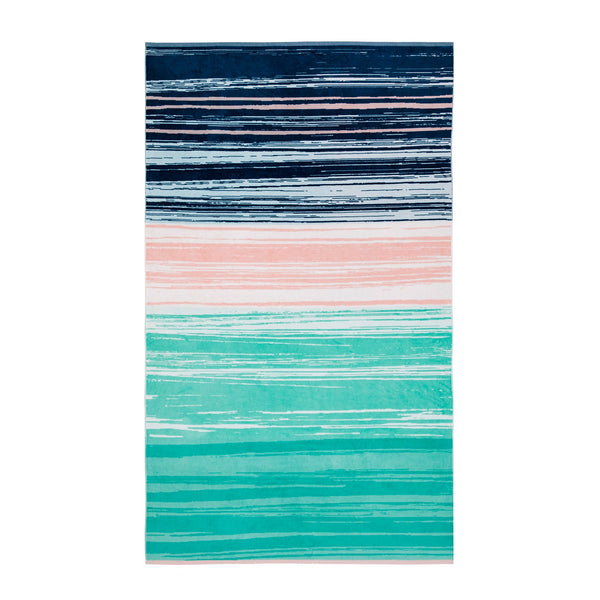 SWOOSH RECTANGLE BEACH TOWEL