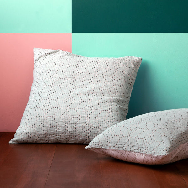TEMIK SEAFOAM EUROPEAN PILLOWCASE