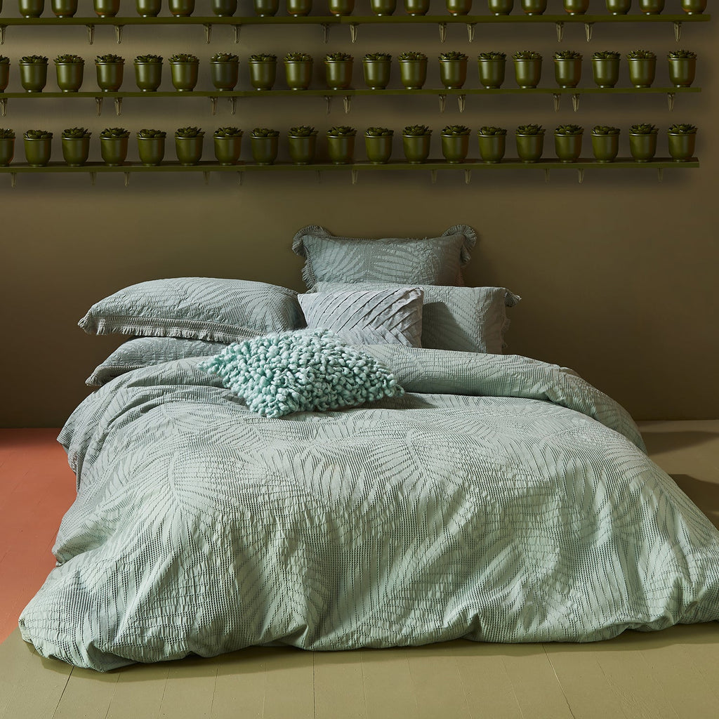 TERRELL SAGE QUILT COVER SET