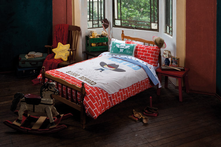 WANTED MULTI KIDS QUILT SET