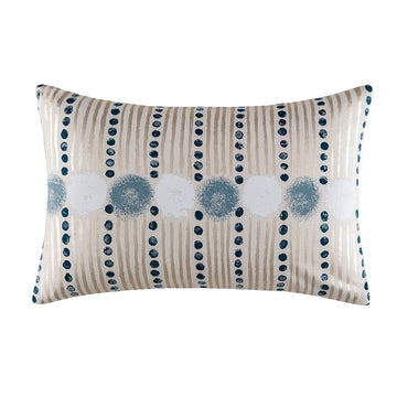WYATT PEACOCK RECTANGLE CUSHION