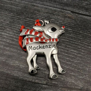 Hallmark Rudolph The Red Nosed Reindeer MACKENZIE Christmas Ornament