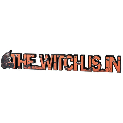 PBK Halloween The Witch is In Black and Orange 24