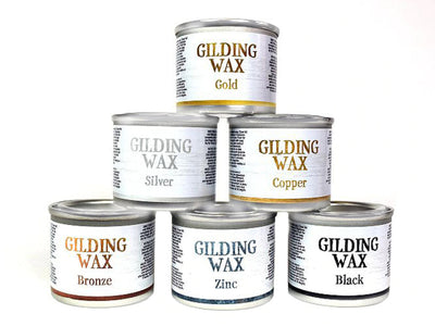 Dixie Belle Gilding Wax 40ml: Gold, Black, Zinc, Bronze, Copper, Silver - Piglet's Closet