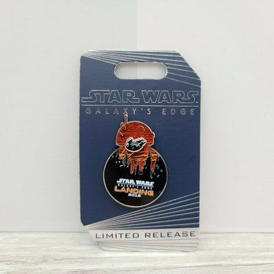 2019 Disney Star Wars Galaxy's Edge Landing BB-8 Falcon LR Slider Pin - Piglet's Closet