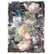 "Re-design by Prima Bridgette Floral Tissue Decoupage Paper 19"" x 30"" - Piglet's Closet"