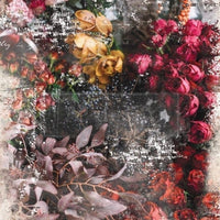 "Re-design by Prima Iva Floral Tissue Decoupage Paper 19"" x 30"""