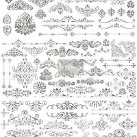 "Re-design by Prima Scrolls & Accents Furniture Decor Transfer 22""x 30"""
