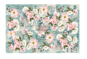 "Re-design by Prima Zola Floral Tissue Decoupage Paper 19"" x 30"" - Piglet's Closet"