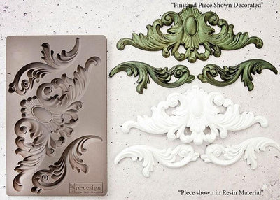 Redesign by Prima Thorton Medallion Silicone Decor Mould - Piglet's Closet