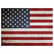 "Re-design Prima America Flag Red White 23"" x 30"" Furniture Decor Transfer - Piglet's Closet"