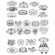 Re-design Prima Vintage Labels Furniture Decor Transfer