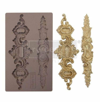 Re-Design by Prima Silicone Decor Mould - Sicilian Plates