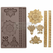 Re-Design by Prima Silicone Decor Mould - Agadir Patterns