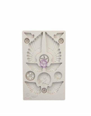 Finnabair by Prima Silicone Decor Mould - Cogs and Wings - Piglet's Closet