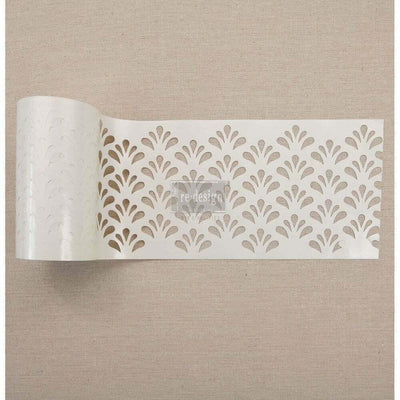 Re-Design by Prima Eastern Fountain Stick & Style Furniture Art Stencil Roll