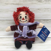 "Applause Raggedy Ann Doll of the Month February 9"" Plush Doll"