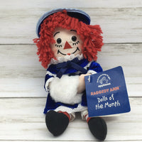 "Applause Raggedy Ann Doll of the Month January 9"" Plush Doll - Piglet's Closet"