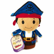 "Hallmark Itty Bittys Disney Juniors 4.25"" Neverland Pilots Jake Plush"