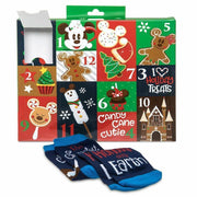 Disney 12 Days Of Socks Yummiest Time Of Year Adult Food Advent Calendar