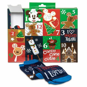 Disney 12 Days Of Socks Yummiest Time Of Year Adult Food Advent Calendar - Piglet's Closet