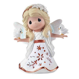 Precious Moments Angel LED Musical Figurine - The First Noel - Piglet's Closet