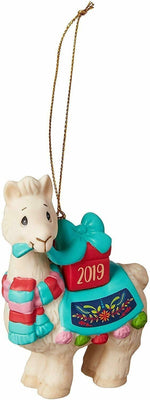 2019 Precious Moments - Llama I Love You Llots Ornament #191009 - Piglet's Closet