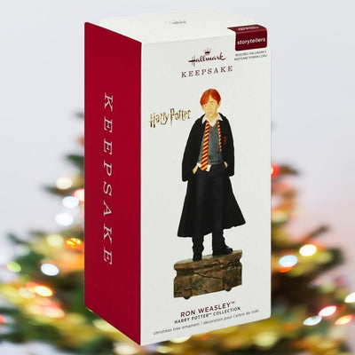 2019 Hallmark Harry Pottery Storytellers Ornament- Ron Weasley - Piglet's Closet