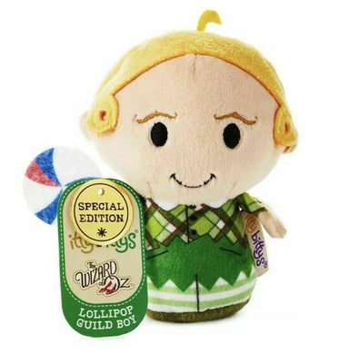 Hallmark Itty Bittys Wizard of Oz Lollipop Guild Boy Limited 4