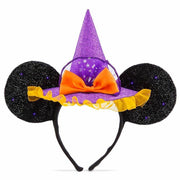 Disney Parks Minnie Mouse Witch Ear Headband for Adults