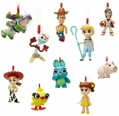 Disney Pixar Toy Story 4 Sculpted Mini Ornament Set