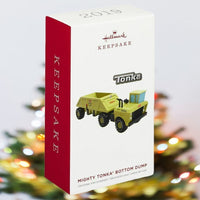 2019 Hallmark Tonka Mighty Bottom Dump Truck Ornament - Piglet's Closet