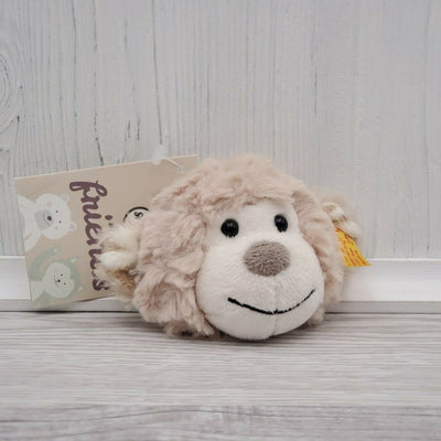 Steiff Soft Cuddly Friends Monkey Head Keyring Plush #916779