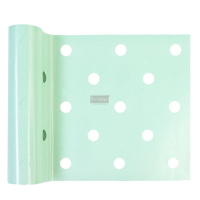 Re-Design by Prima Mini Polka Dot Stick & Style Furniture Art Stencil Roll - Piglet's Closet