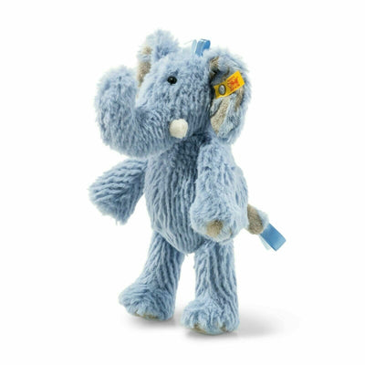 Steiff Small Earz Blue Elephant Stuffed Animal 8