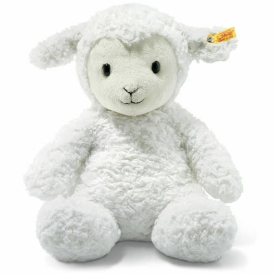 Steiff Large Fuzzy Lamb Stuffed Animal 15