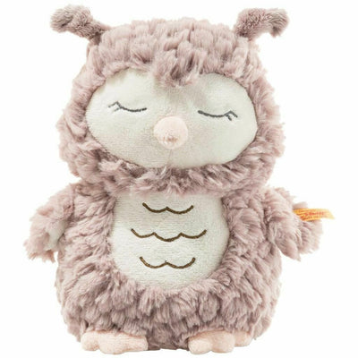 Steiff Ollie Owl Stuffed Animal 8.5
