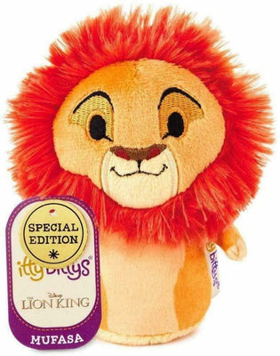 Hallmark Itty Bittys Lion King Disney Special Edition Mufasa Plush