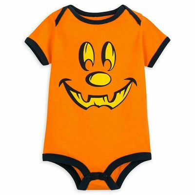 Mickey Mouse Halloween Pumpkin Bodysuit – Walt Disney World Newborn
