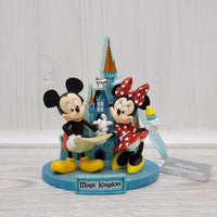 Disney Parks Magic Kingdom Cinderella Castle Mickey Minnie Ornament - Piglet's Closet