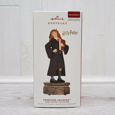 2019 Hallmark Harry Pottery Storytellers Ornament- Hermione Granger