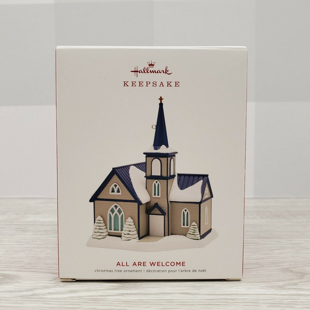 2019 Hallmark All Are Welcome Church Ornament - Piglet's Closet