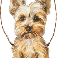 Primitives by Kathy Yorkie Yorkshire Terrier Dog Ornament - Piglet's Closet