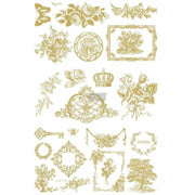 "Prima Re-design Gilded Home and Nature 24"" x 36"" Decor Furniture Transfer"