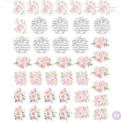 Redesign by Prima Redesign Knob Transfer - May Flowers - Piglet's Closet