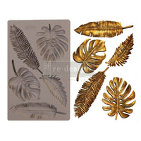 Re-Design by Prima Silicone Decor Mould - Monstera Leaves - Piglet's Closet