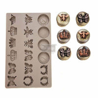 Prima Silicone Decor Mould - Regal Findings - Piglet's Closet